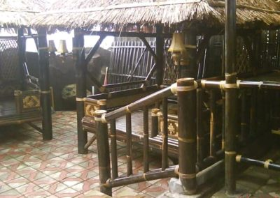 Gazebo Bambu Modern