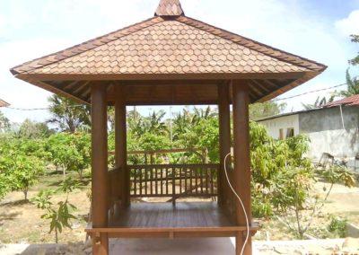 Gazebo Kayu Malang