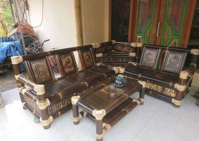 Kursi bambu Murah