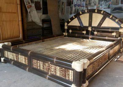 Furniture Dari Bahan Bambu