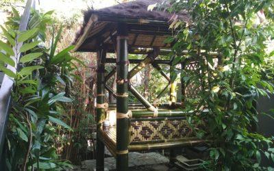 Gazebo Bambu, Membuat Suasana Lebih Asri