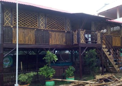 Rumah Bambu Malang