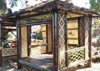 Gazebo Bambu Murah