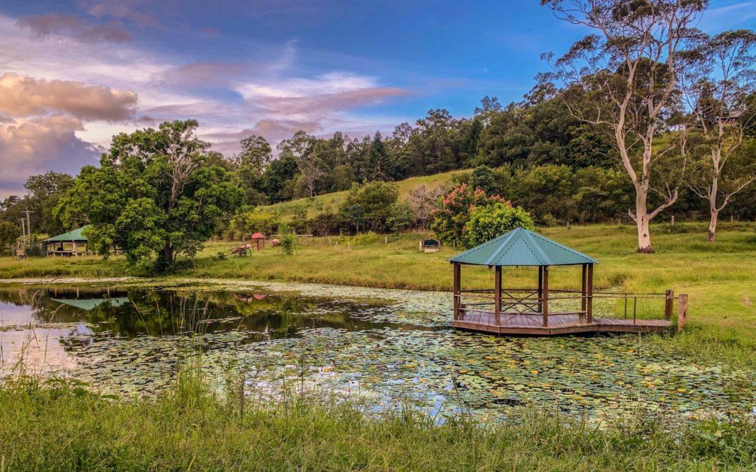 Gazebo Tepi Kolam, Tempat Unik untuk Bersantai