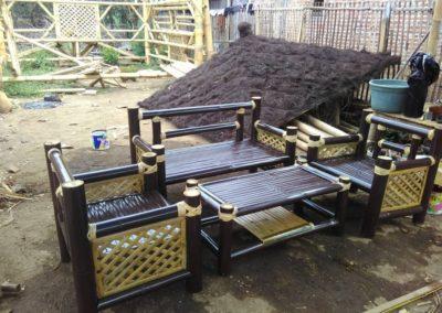 Kursi Bambu Minimalis