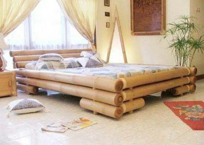 Tempat Tidur Bambu Murah