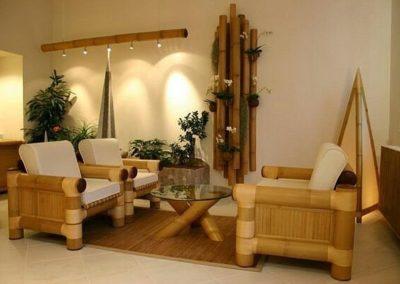 Furniture Unik Dari Bambu